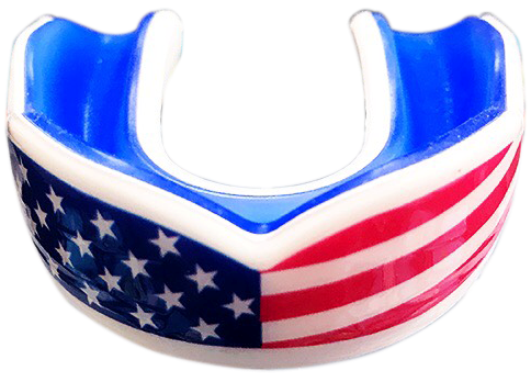 USA Flag Sports Mouth Guard